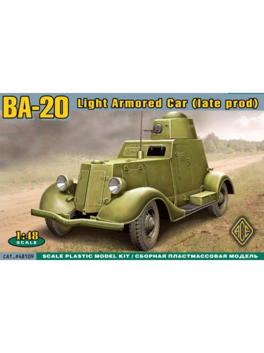 Ace - BA-20 light armored car,late prod.