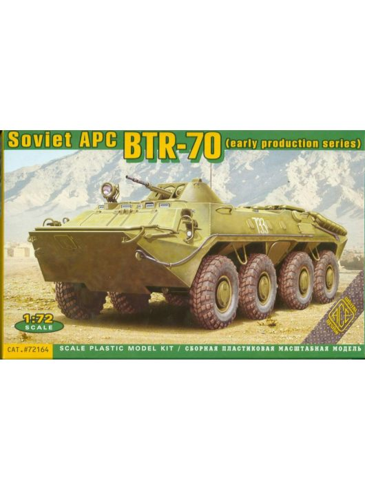 Ace - BTR-70 Soviet armored personnel carrier,
