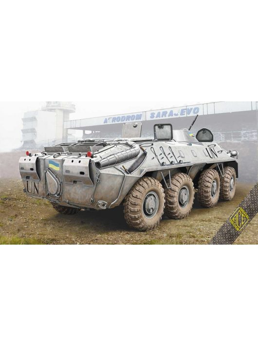 Ace - BTR-70 Soviet armored personnel carrier late prod.