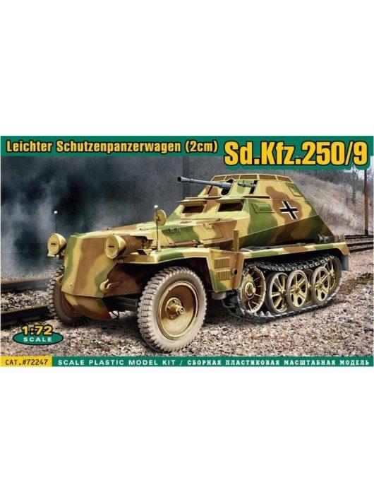 Ace - Sd.Kfz.250/9 Leicht. Schützenp.wagen(2cm
