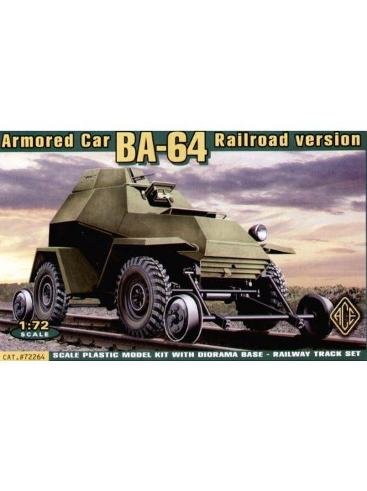 Ace - Ba-64ZhD (railroad versions) w/railway Track Set