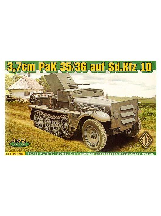 Ace - 37 mm PaK 35/36 auf Sd.Kfz 10
