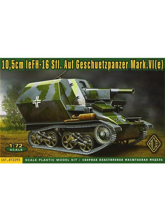 Ace - 10,5cm leFH-16 Sfl.Auf Geschuetzpanzer M
