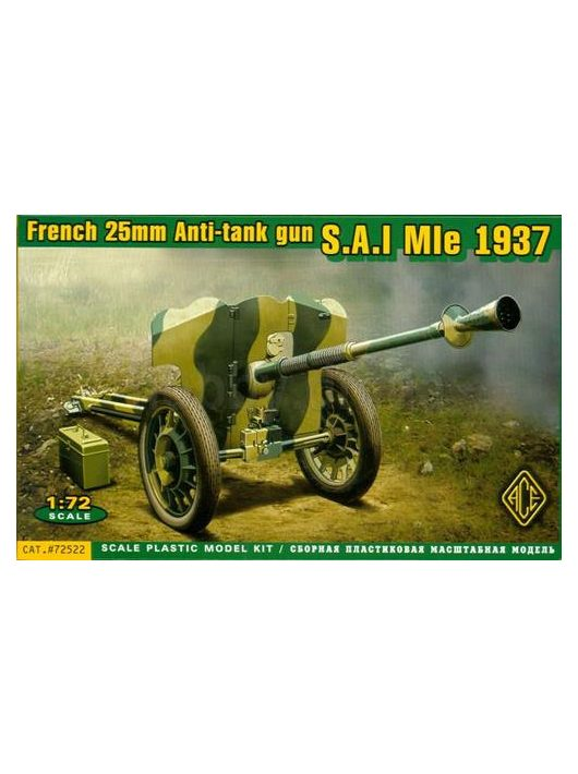 Ace - S.A:I Mle 1937 French 25mm anti-tank gun