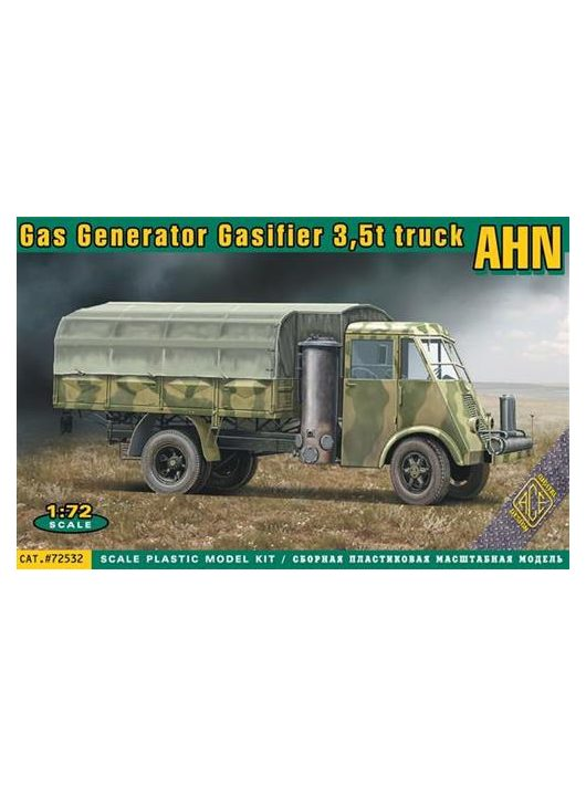 Ace - AHN French 3,5t Gas generator truck