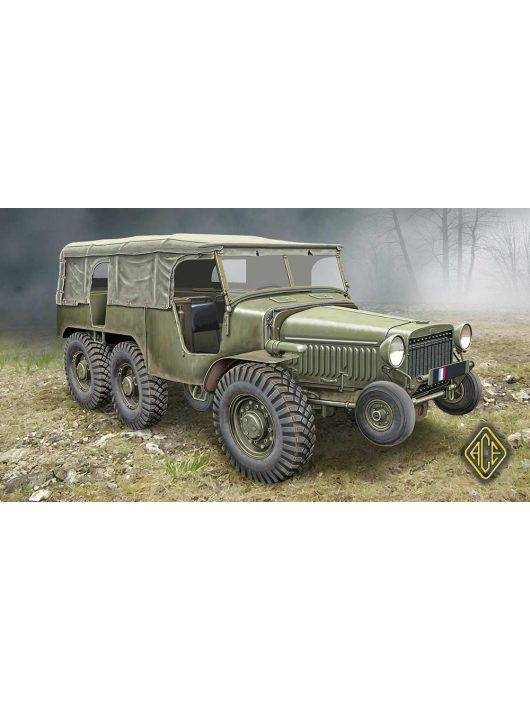 Ace - W-15T French WWII 6x6 artillery tractor