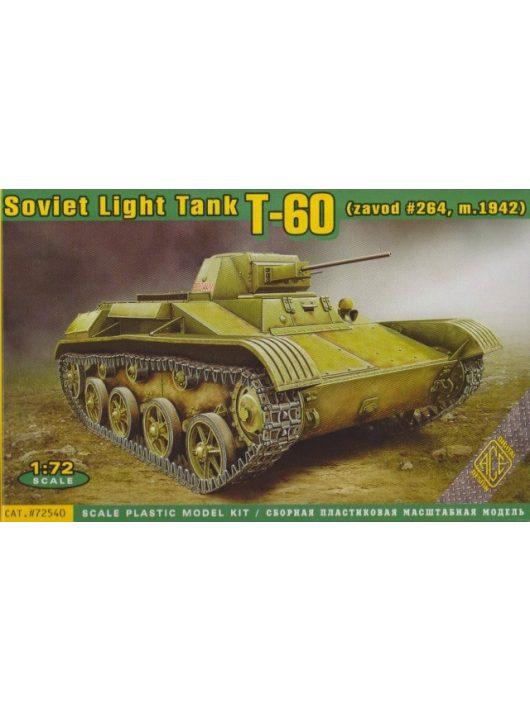 Ace - T-60 Soviet light tank(zavod #264,m1942)