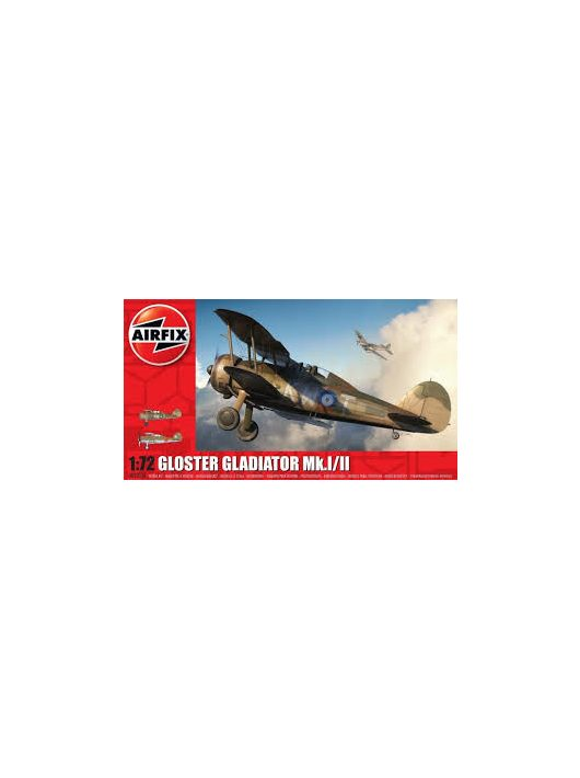 Airfix - Gloster Gladiator MkI/MKII