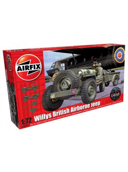 Airfix - Willys Jeep, Trailer & 6PDR Gun