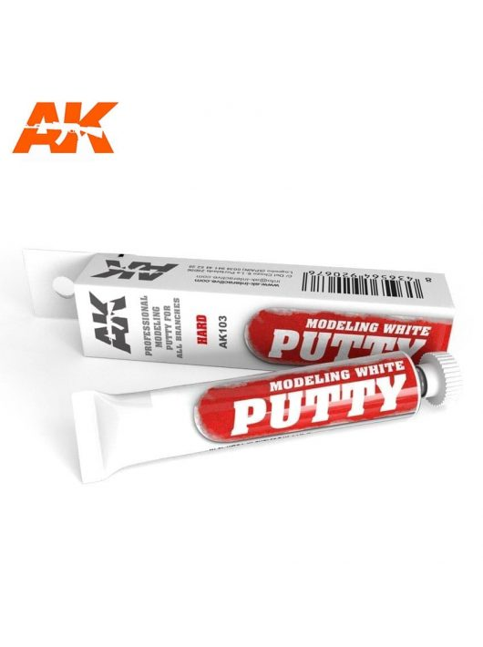 AK Interactive - Modeling White Putty 20 ml