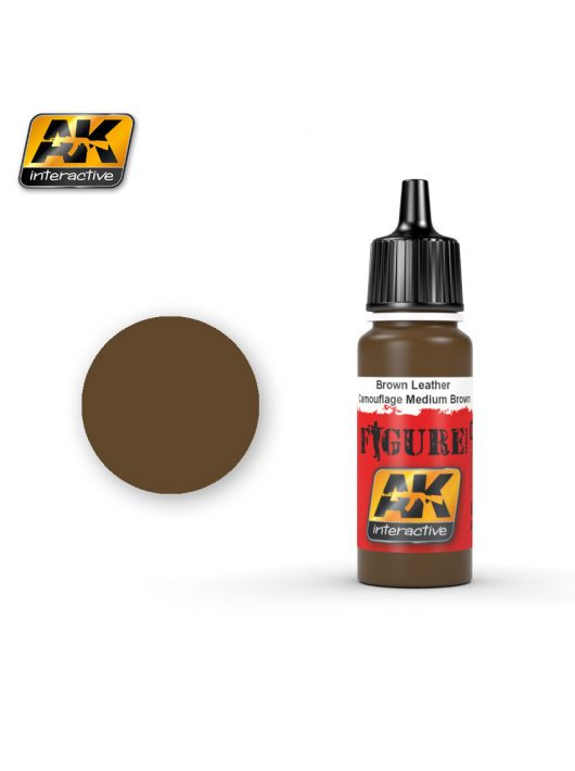 AK Interactive - Brown Leather / Camouflage Medium Brown