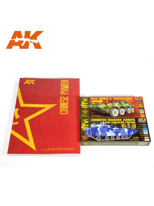 AK-Interactive -  Chinese PLA promo pack