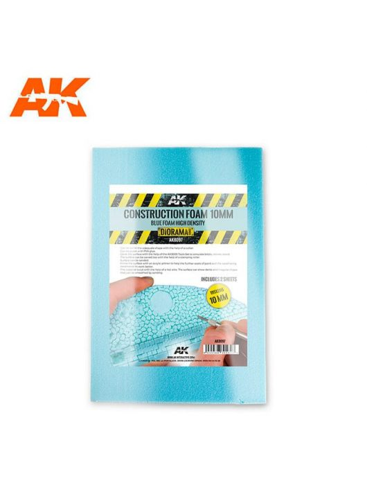 AK Interactive - CONSTRUCTION FOAM 10MM - BLUE FOAM 195