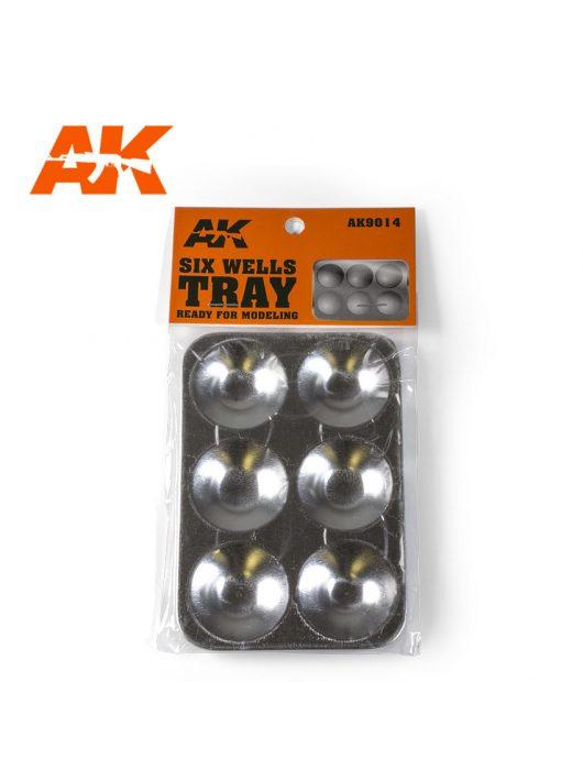 AK Interactive - SIX WELLS TRAY