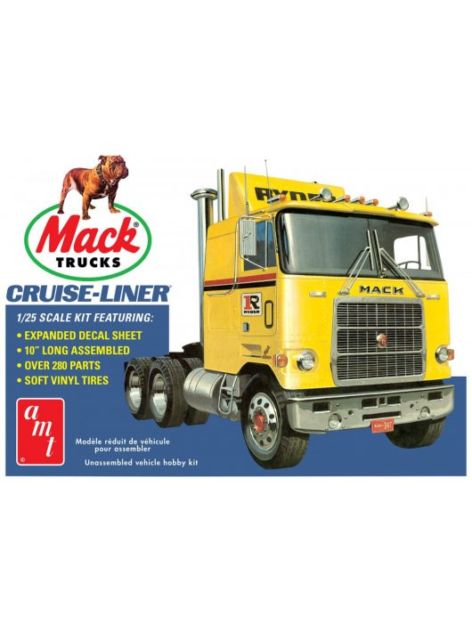 AMT - Mack Cruise-Liner Semi Tractor