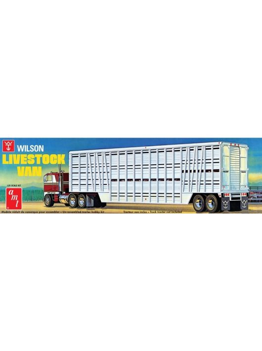 AMT - Wilson Livestock Van Trailer