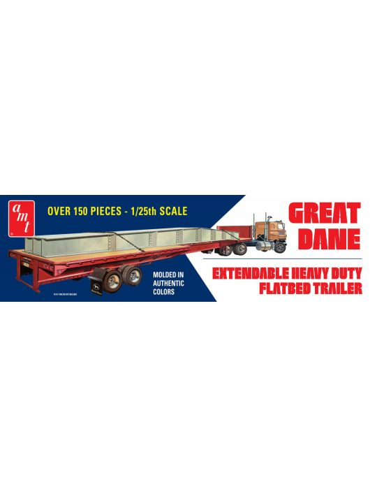 AMT - Great Dane Extendable Flat Bed Trailer