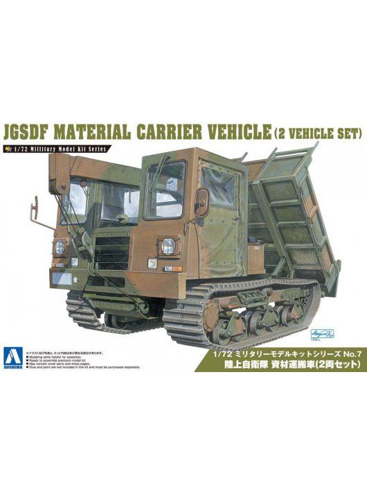 Aoshima - 1/72 Jgsdf Material Carrier Vehicle(2 Vehicle Set)