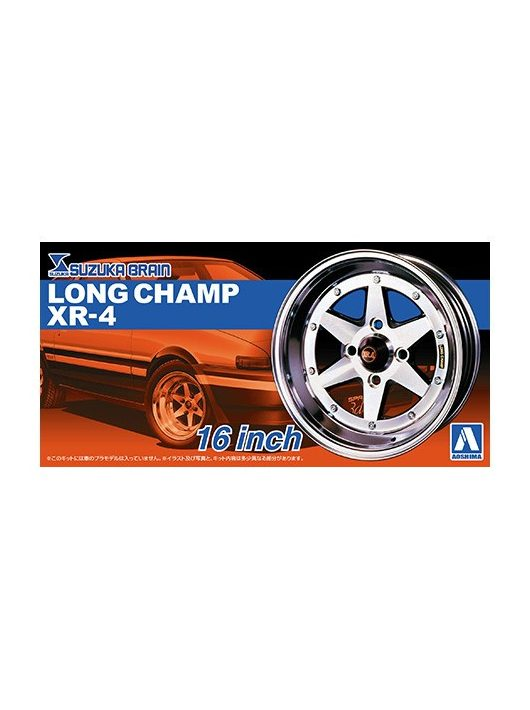 Aoshima - Ronshan XR-4 wheel and tyre set
