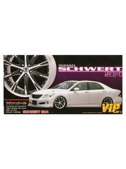 Aoshima - Varianza Schwert SC4 20 Inch wheel and tyres set