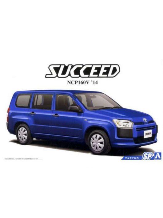 Aoshima - Toyota NCP160V Succeed 2014