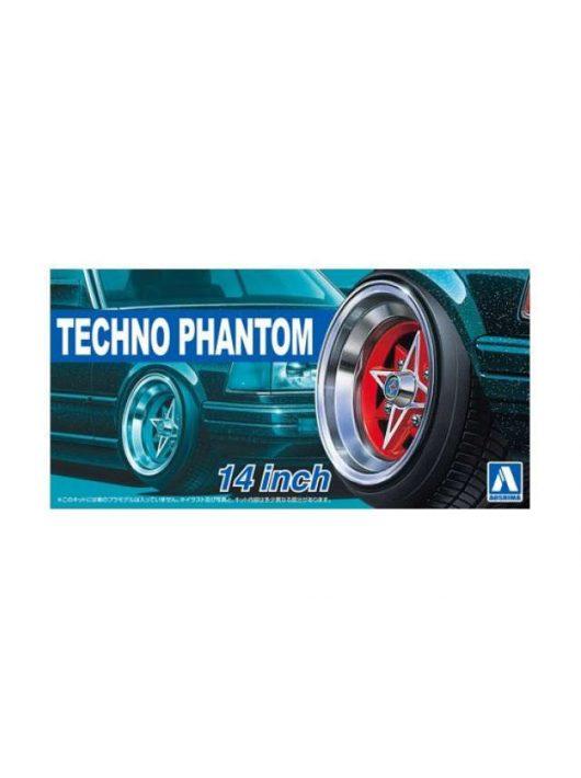 Aoshima - 1/24 Techno Phantom 14inch, plastic modelkit