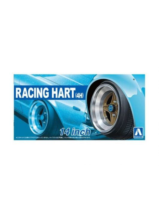 Aoshima - 1/24 Racing Hart (4H) 14 inch, plastic modelkit