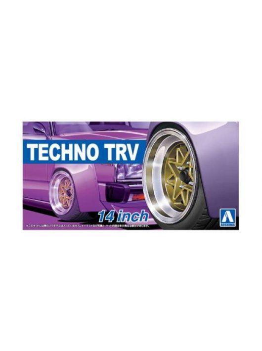 Aoshima - 1/24 Techno TRV 14inch, plastic modelkit