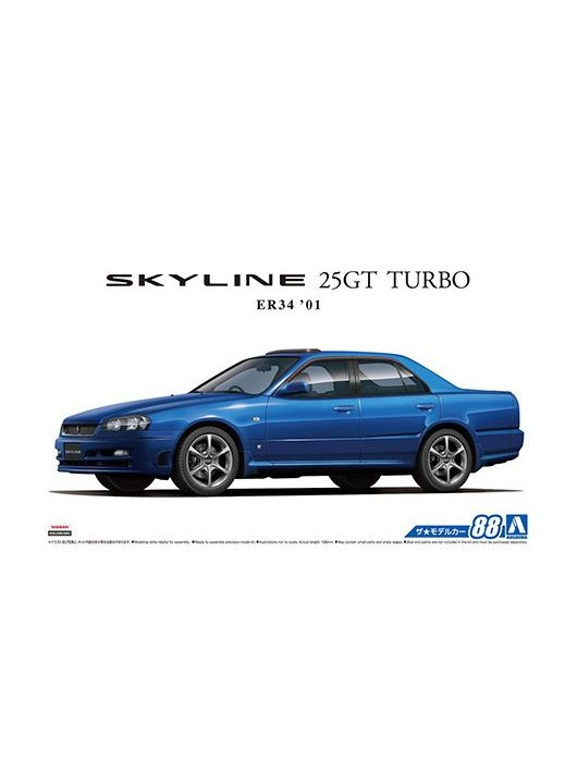 Aoshima - Nissan ER34 Skyline 25GT Turbo '01