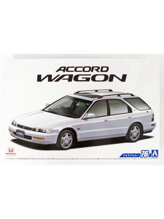 Aoshima - 1996 Honda CF2 Accord Wagon SiR, plastic modelkit
