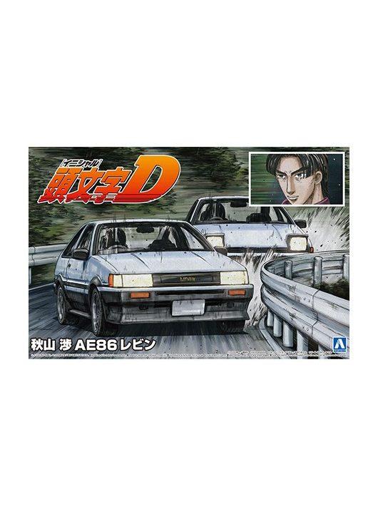 Aoshima - Akiyama Wataru Ae86 Levin