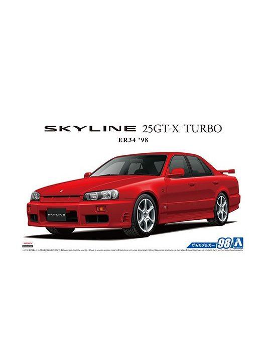 Aoshima - Nissan Er34 Skyline 25Gt-X Turbo 1998