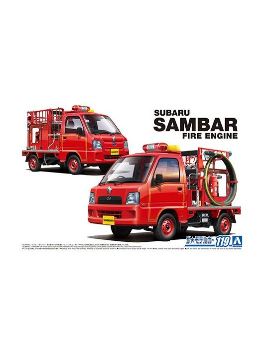 Aoshima - Subaru Tt2 Sambar The Fire Engine 1911