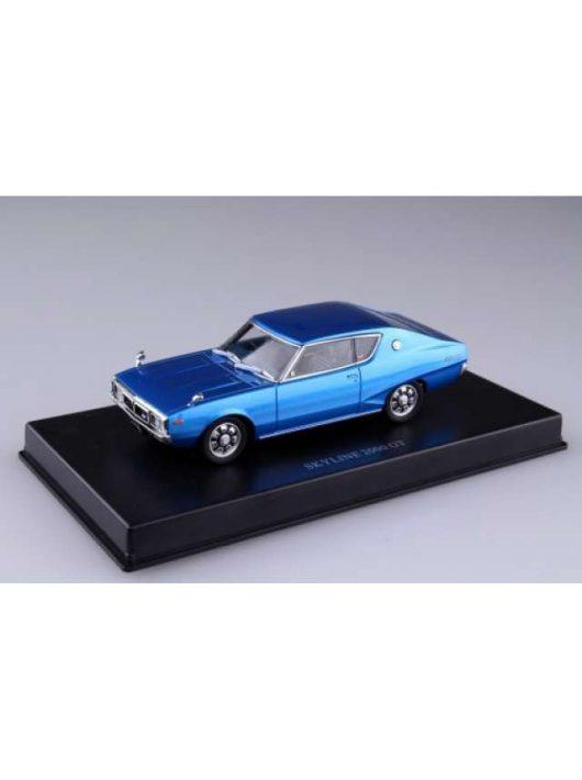 Aoshima - Nissan KGC110 Ken Mary Skyline HT 2000 GT Blue Metallic