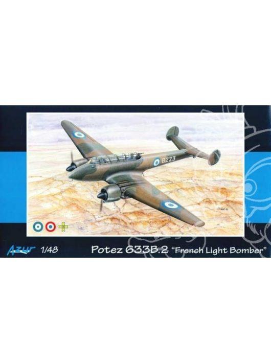 Azur - Potez 633B.2 French Light Bomber