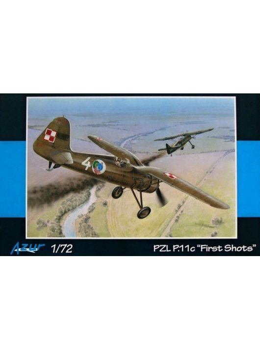 "Azur - PZL P.11c ""First Shots"""