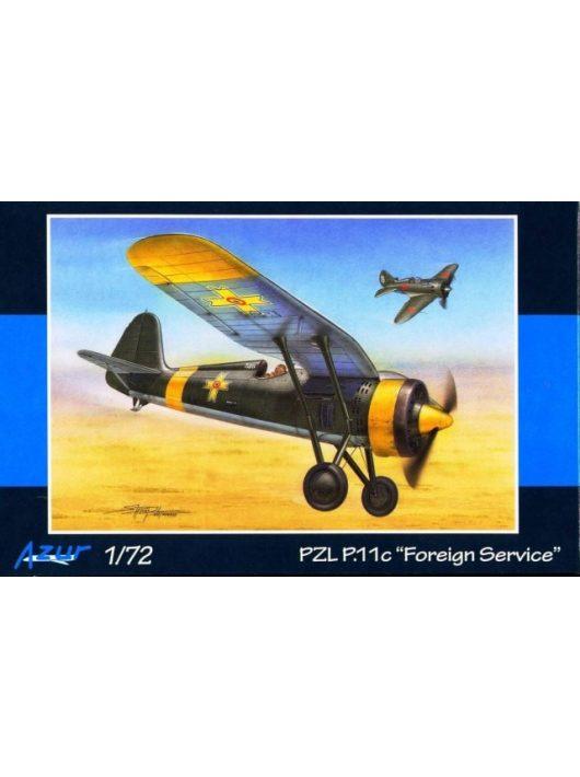 """Azur - PZL P.11c """"Foreign Service"""""""