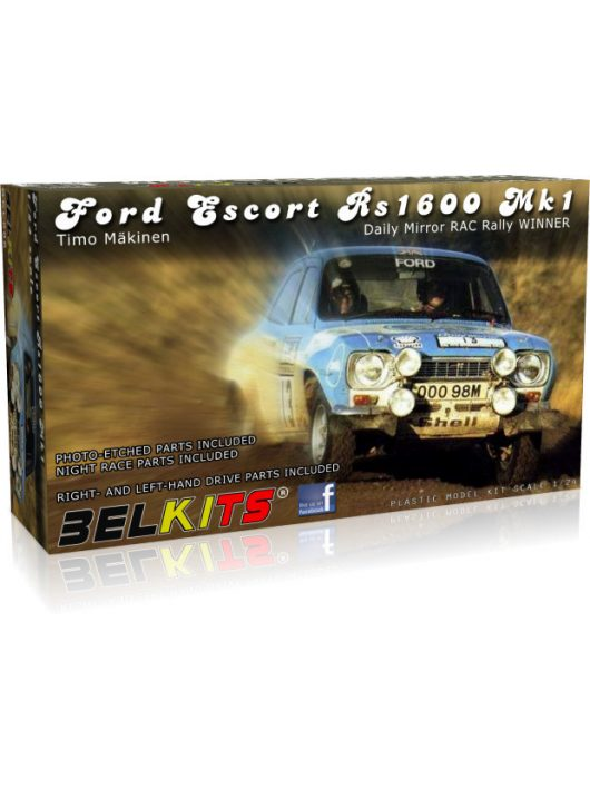 BELKITS - FORD ESCORT Rs1600 MK.1 Makinen RAC 1973