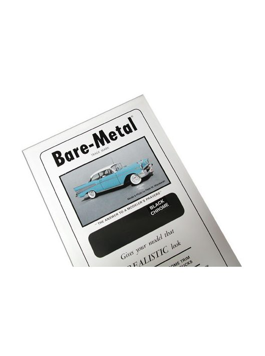 Bare-Metal Foil - Black Chrome