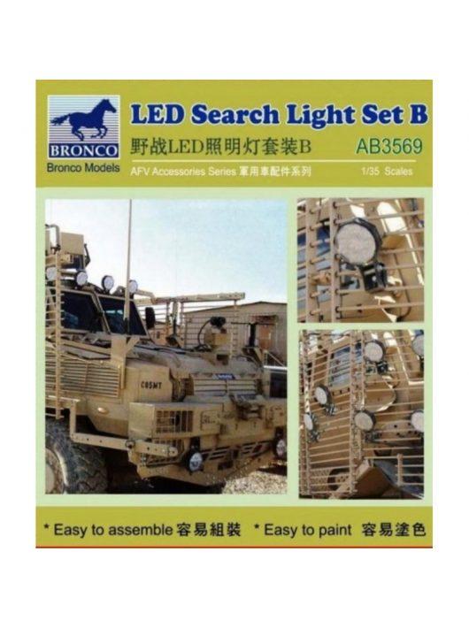 Bronco Models - LED Search Light Set B.