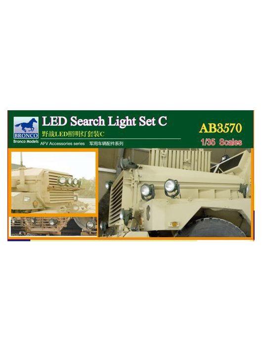Bronco Models - LED Search Light Set C.