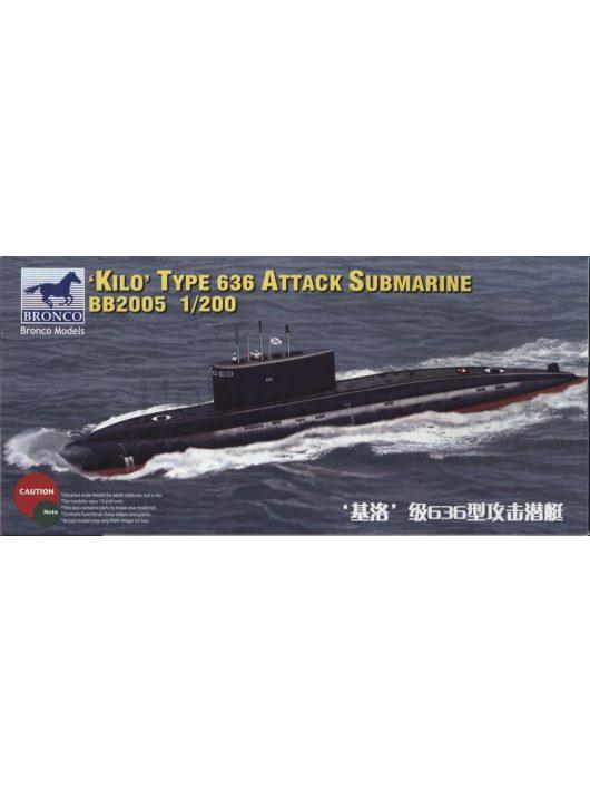 Bronco Models - Russian Kilo Type 636 Attack Submarine
