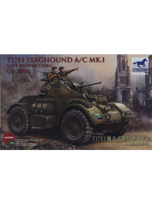 Bronco Models - T17E1 Staghound Mk.I Late Production