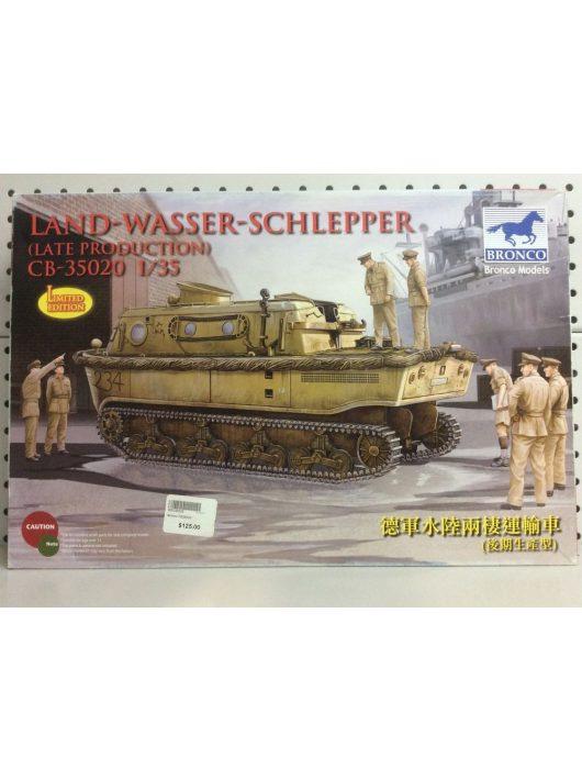 Bronco Models - Landwasserschlepper (late Production)