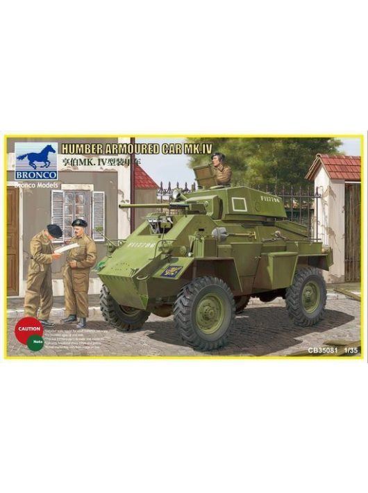 Bronco Models - Humber Armored Car Mk.IV