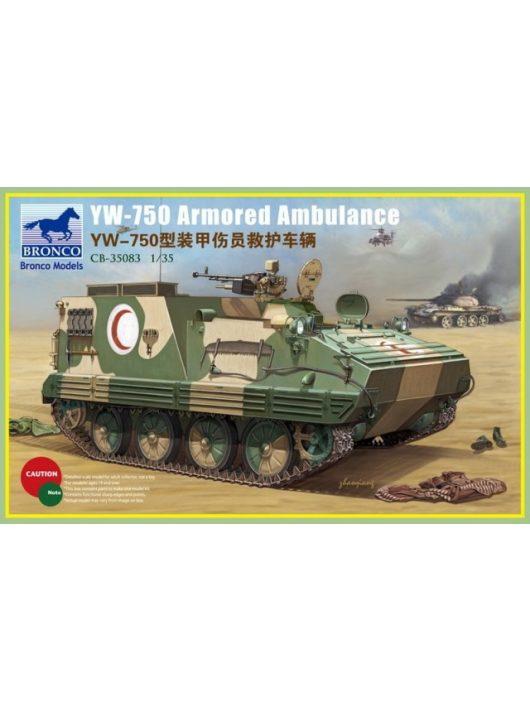 Bronco Models - YW-750 Armored Ambulance Vehicle