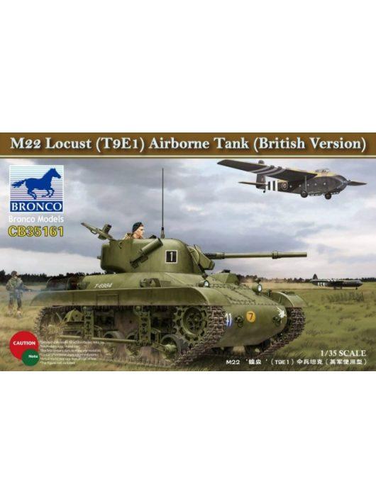Bronco Models - M22 Lucust (T9E1) Airborne Tank (British Version)