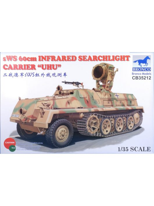 Bronco Models - sWS 60cm Infrared Searchlight CarrierUHU