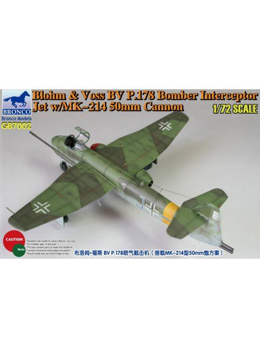 Bronco Models - Blohm & Voss BV P.178 Bomber Interceptor Jet w/MK-214 50mm Cannon
