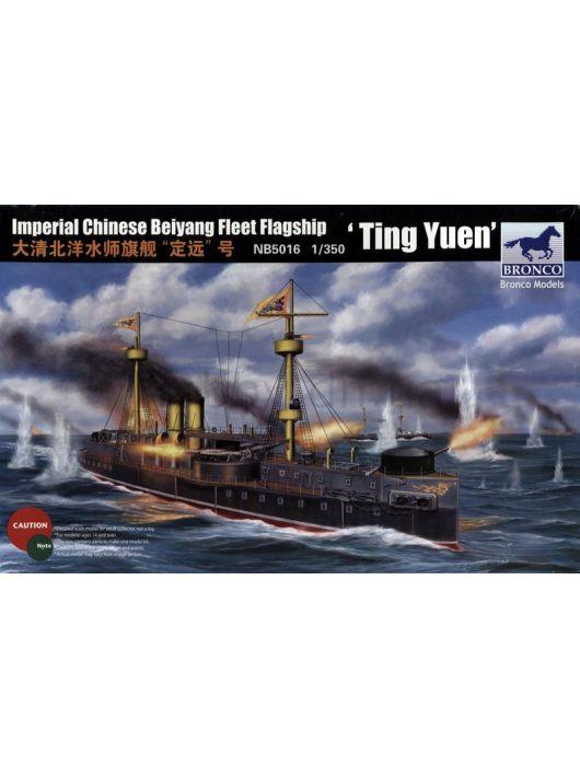 Bronco Models - Beiyang Fleet Battleship'Ting Yuen'